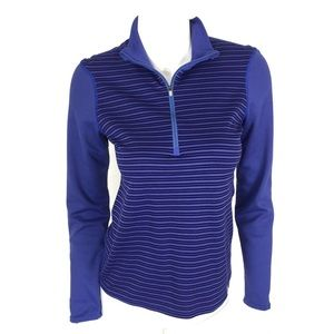 Patagonia Women's 1/4 Zip Sweater Blue Small